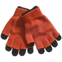 Grand Sierra 2-in-1 Knit Gloves (For Youth) in Orange - Closeouts