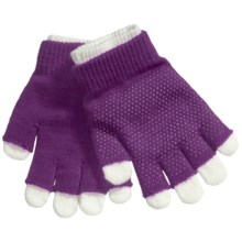 Grand Sierra 2-in-1 Knit Gloves (For Youth) in Purple - Closeouts