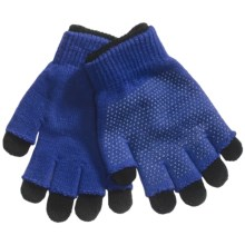 Grand Sierra 2-in-1 Knit Gloves (For Youth) in Royal - Closeouts