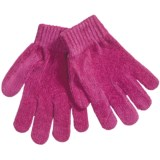 Grand Sierra Chenille Stretch Gloves (For Girls)
