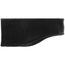 Grand Sierra Contoured Microfleece Headband - Double Layer (For Men) in Black - Closeouts