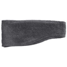 Grand Sierra Contoured Microfleece Headband - Double Layer (For Men) in Charcoal - Closeouts