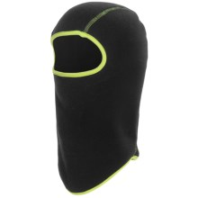 Grand Sierra Fleece Balaclava (For Boys) in Black/Lime - Closeouts