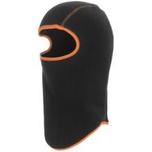 Grand Sierra Fleece Balaclava (For Boys) in Black/Orange - Closeouts