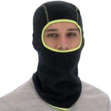Grand Sierra Fleece Balaclava (For Men) in Black/Lime - Closeouts