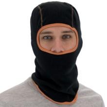 Grand Sierra Fleece Balaclava (For Men) in Black/Orange - Closeouts