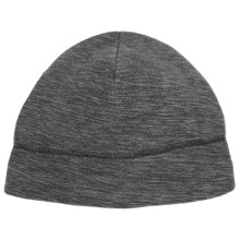 Grand Sierra Fleece Beanie Hat (For Men) in Charcoal - Closeouts