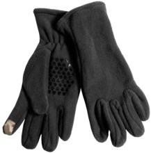 Grand Sierra Fleece Gloves - Touchscreen Compatible (For Women) in Black - Closeouts