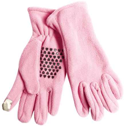 Grand Sierra Fleece Gloves - Touchscreen Compatible (For Women) in Light Pink - Closeouts
