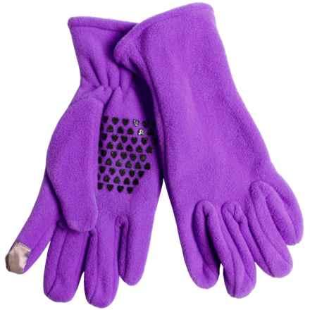 Grand Sierra Fleece Gloves - Touchscreen Compatible (For Women) in Purple - Closeouts
