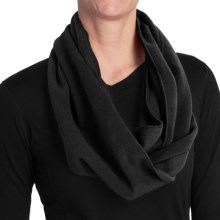 Grand Sierra Fleece Infinity Scarf (For Women) in Black - Closeouts