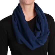 Grand Sierra Fleece Infinity Scarf (For Women) in Navy - Closeouts