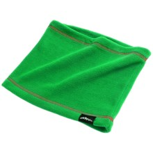 Grand Sierra Fleece Neck Gaiter (For Big Boys) in Green/Red - Closeouts