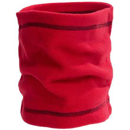 Grand Sierra Fleece Neck Gaiter (For Big Boys) in Red/Black - Closeouts