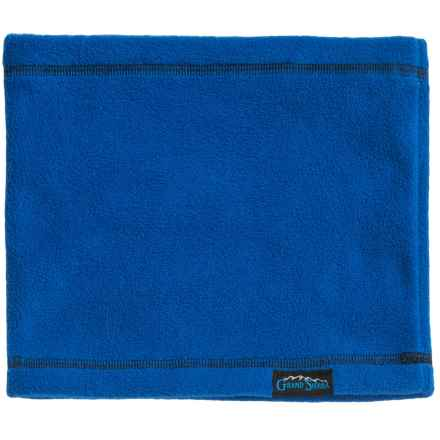 Grand Sierra Fleece Neck Gaiter (For Big Boys) in Royal W Black - Closeouts
