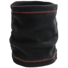 Grand Sierra Fleece Neck Gaiter (For Boys) in Black/Orange - Closeouts