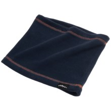 Grand Sierra Fleece Neck Gaiter (For Boys) in Dark Navy/Orange - Closeouts