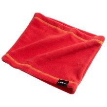 Grand Sierra Fleece Neck Gaiter (For Boys) in Red/Yellow - Closeouts