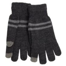 Grand Sierra Knit Gloves - Touchscreen Compatible (For Men) in Charcoal/Grey - Closeouts