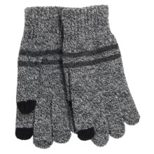 Grand Sierra Knit Gloves - Touchscreen Compatible (For Men) in Grey Marl - Closeouts