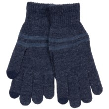 Grand Sierra Knit Gloves - Touchscreen Compatible (For Men) in Navy - Closeouts