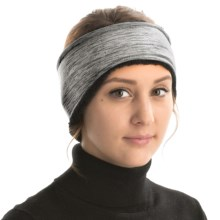 Grand Sierra Melange Fleece Headband (For Women) in Grey - Closeouts