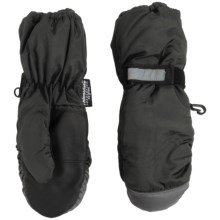 Grand Sierra Microfiber Thinsulate® Mittens - Waterproof, Insulated (For Little Boys) in Black - Closeouts