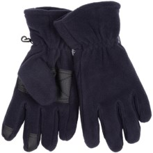 Grand Sierra Microfleece Gloves - Thinsulate® (For Men) in Navy - Closeouts