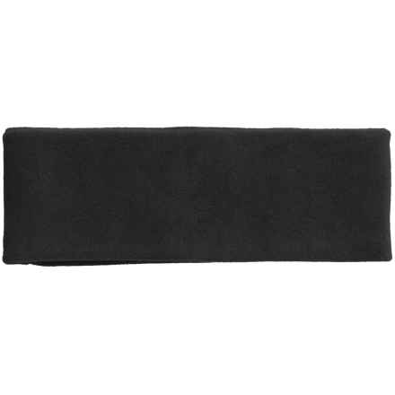 Grand Sierra Microfleece Headband - Double Layer (For Men) in Black - Closeouts