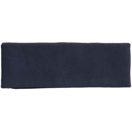 Grand Sierra Microfleece Headband - Double Layer (For Men) in Navy - Closeouts