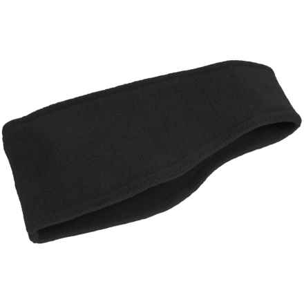 Grand Sierra Microfleece Headband (For Women) in Black - Closeouts