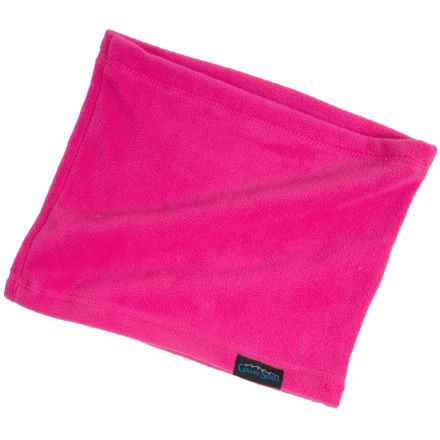 Grand Sierra Microfleece Neck Gaiter (For Little and Big Girls) in Hot Pink - Closeouts