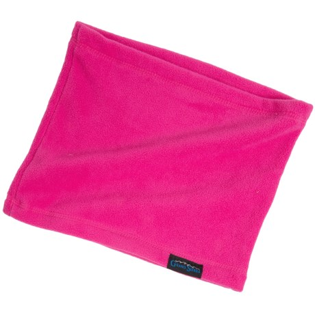 Grand Sierra Microfleece Neck Gaiter (For Little and Big Girls) in Hot Pink
