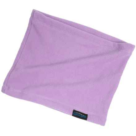 Grand Sierra Microfleece Neck Gaiter (For Little and Big Girls) in Lilac - Closeouts