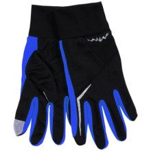 Grand Sierra Micromesh Gloves - Touchscreen Compatible (For Men) in Black/Blue - Closeouts