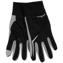 Grand Sierra Micromesh Gloves - Touchscreen Compatible (For Men) in Black/Grey - Closeouts