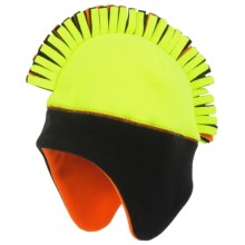 Grand Sierra Mohawk Fleece Helmet (For Boys) in Fluorescent Yellow - Closeouts