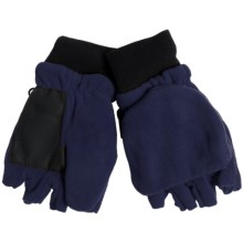 Grand Sierra Pop-Top Mitten Gloves (For Boys) in Navy - Closeouts