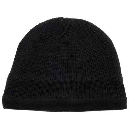 Grand Sierra Ragg Wool Beanie (For Men) in Black - Closeouts