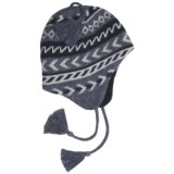 Grand Sierra Ragg Wool Beanie Hat - Ear Flaps, Fleece Lining (For Men)