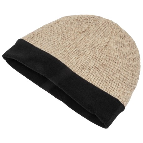 Grand Sierra Ragg Wool Beanie Hat - Thinsulate® (For Men) in Oatmeal