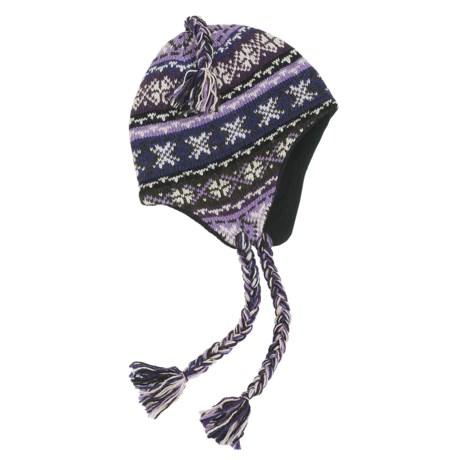 Grand Sierra Ragg Wool Hat - Ear Flaps (For Women) in Lavender