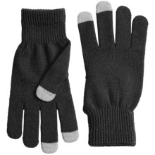 Grand Sierra Stretch Magic Gloves - Touchscreen Compatible (For Women) in Black - Closeouts