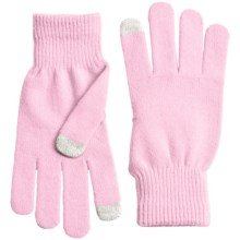 Grand Sierra Stretch Magic Gloves - Touchscreen Compatible (For Women) in Pink - Closeouts