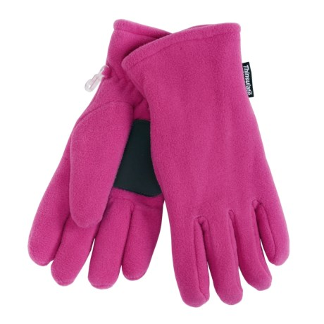 Grand Sierra Super Soft Fleece Gloves - Insulated (For Women) in Hot Pink