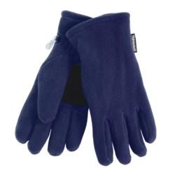Grand Sierra Super Soft Fleece Gloves - Insulated (For Women) in Navy