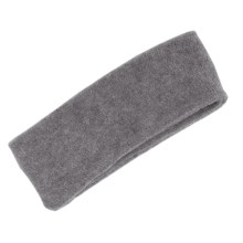 Grand Sierra Super Soft Fleece Headband - Double Layer (For Women) in Grey - Closeouts