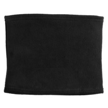Grand Sierra Super Soft Fleece Neck Gaiter (For Women) in Black - Closeouts