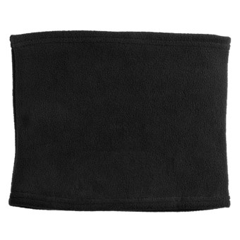 Grand Sierra Super Soft Fleece Neck Gaiter (For Women) in Black