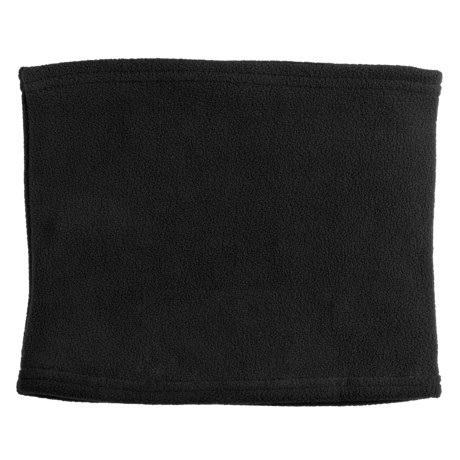 Grand Sierra Super Soft Fleece Neck Gaiter/Warmer (For Women) in Black
